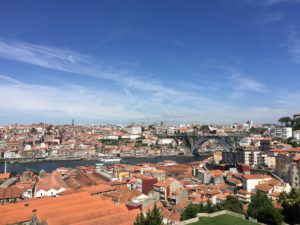 View of Porto from the Yeatman Hotel